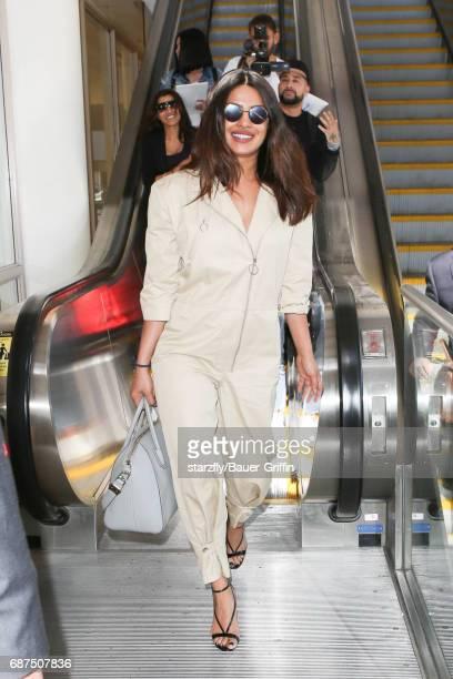 Priyanka Chopra is seen at LAX on May 23 2017 in Los Angeles California