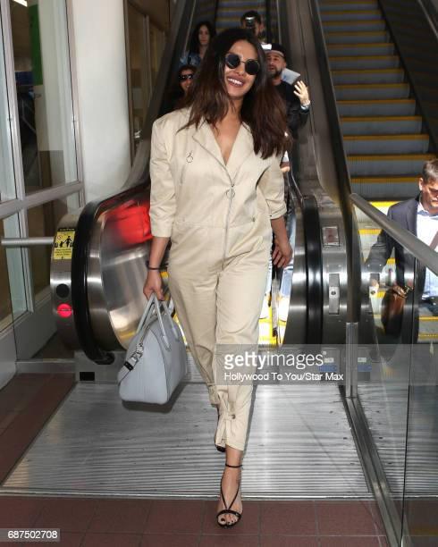 Priyanka Chopra is seen on May 23 2017 in Los Angeles CA
