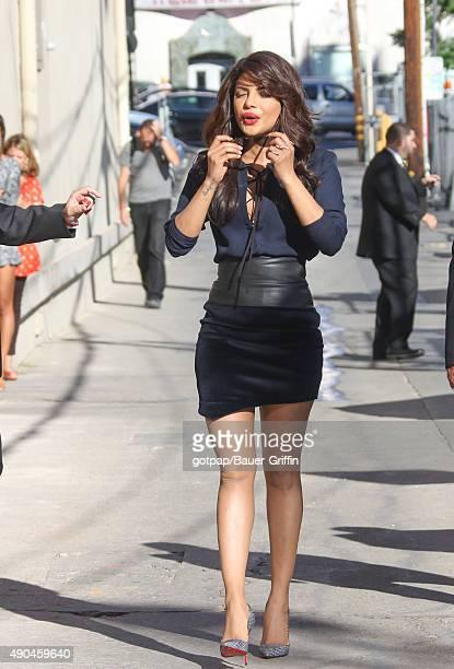 Priyanka Chopra is seen on September 28 2015 in Los Angeles California