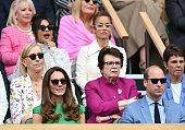 Celebrities Attend Wimbledon 2021