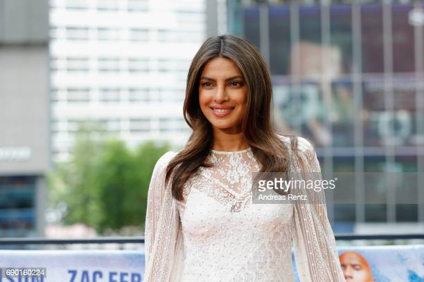 Priyanka Chopra poses at the 'Baywatch' Photo Call at Sony Centre on May 30 2017 in Berlin Germany