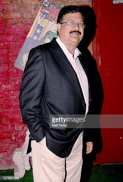 Priyanka Chopra's father DrAshok Chopra at Salma Agha's bash at Dockyard in Mumbai