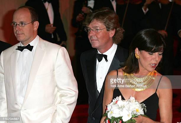 HSH Prnce Albert of Monaco Prince of Hanover and Princess Caroline of Monaco