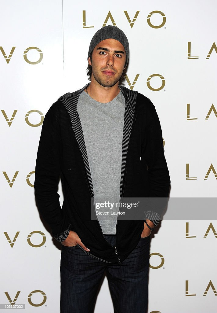 Pro basketball player Sasha Vujacic arrives to host USA launch of 'PEAK Sports' at the Lavo Restaurant & Nightclub at The Palazzo on August 10, 2010 in Las Vegas, Nevada.