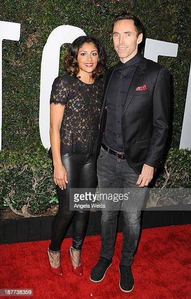 Pro Basketball Player Steve Nash and Brittany Richardson attend the premiere of The Weinstein Company's 'Mandela Long Walk To Freedom' at ArcLight...