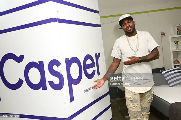 Pro Basketball Player Ty Lawson attends Casper's LA celebration at Blind Dragon on July 9 2015 in West Hollywood California