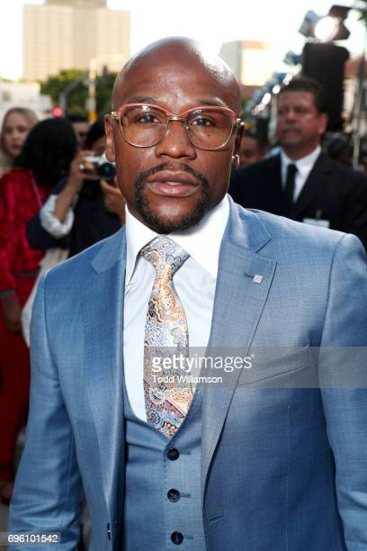 Pro boxer Floyd Mayweather at the 'ALL EYEZ ON ME' Premiere at Westwood Village Theatre on June 14 2017 in Westwood California
