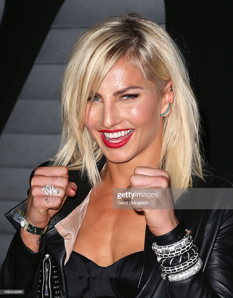 Pro boxer Lauryn Eagle attends the Maxim Hot 100 event at the Pacific Design Center on June 10, 2014 in West Hollywood, California.