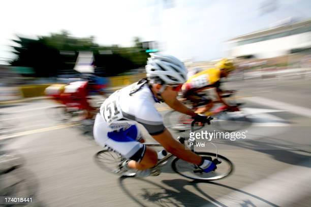Pro Cyclist Blur