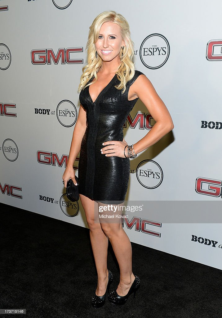 Pro Drag racer Courtney Force attends ESPN The Magazine 5th annual 'Body Issue' party at Lure on July 16, 2013 in Hollywood, California.