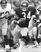 Pro Football Hall of Fame and Chicago Bears running back Walter Payton running into the record books as he has a career high and NFL single game...
