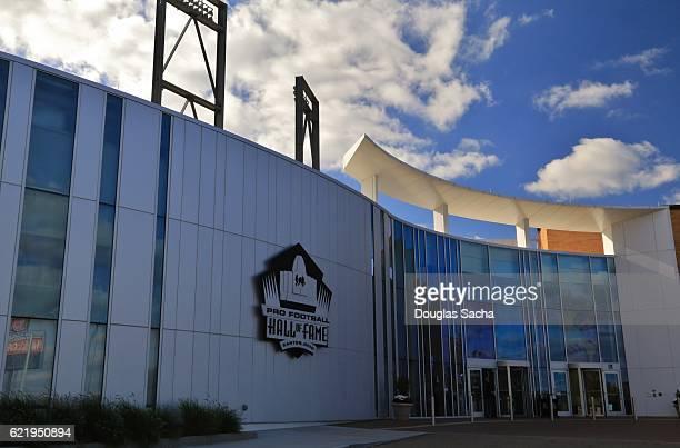 Pro Football Hall Of Fame Main Entrance, Canton, Ohio, USA