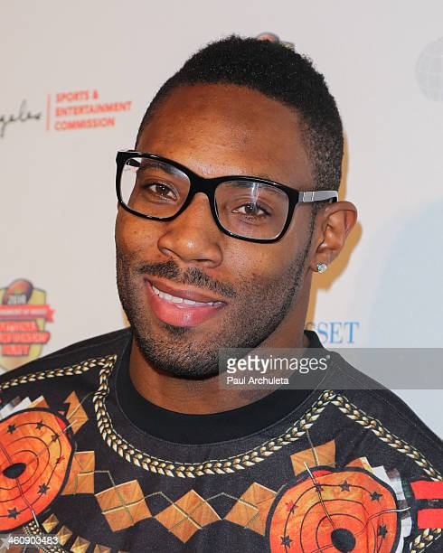 Pro Football Player Antonio Cromartie attends the Los Angeles Sports Entertainment Commission's National Championship party at The Pasadena...