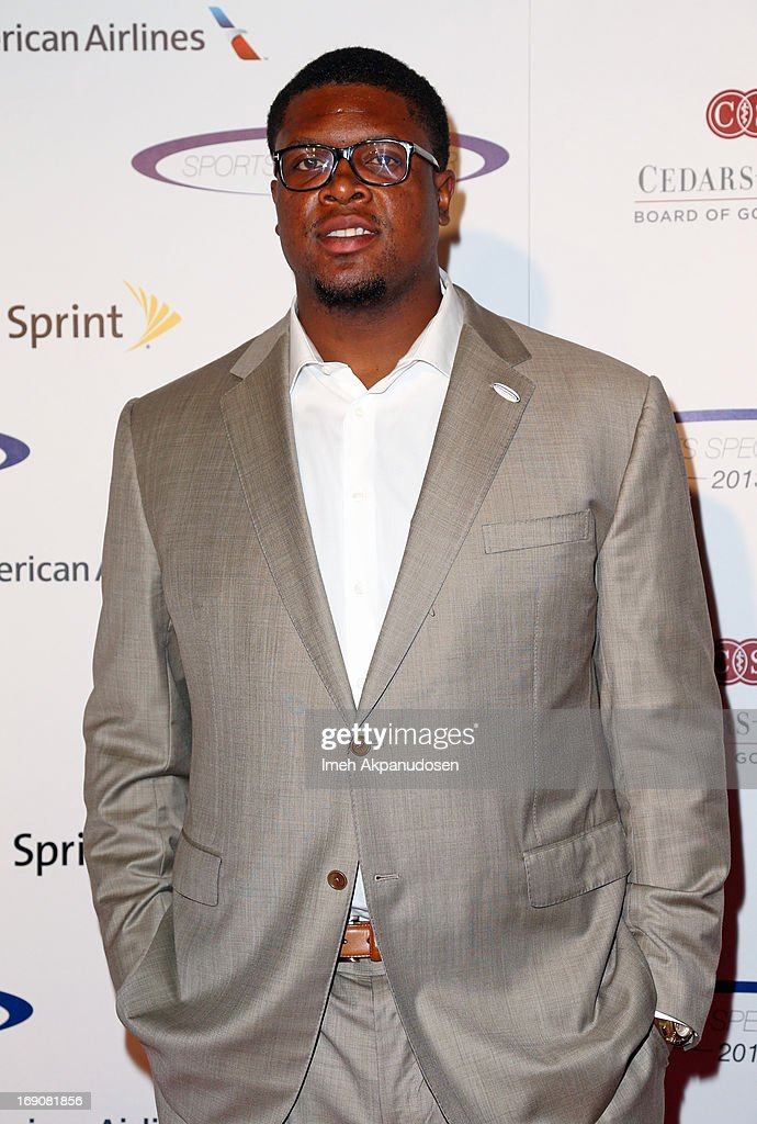 Pro football player Ryan Clady attends the 28th Anniversary Sports Spectacular Gala at the Hyatt Regency Century Plaza on May 19, 2013 in Century City, California.