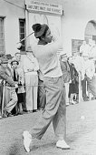 Pro golf companion of Joe Louis born 1914 at Tulsa Oklahoma former redcap at Los Angeles Union Station reported to have played golf for only five...