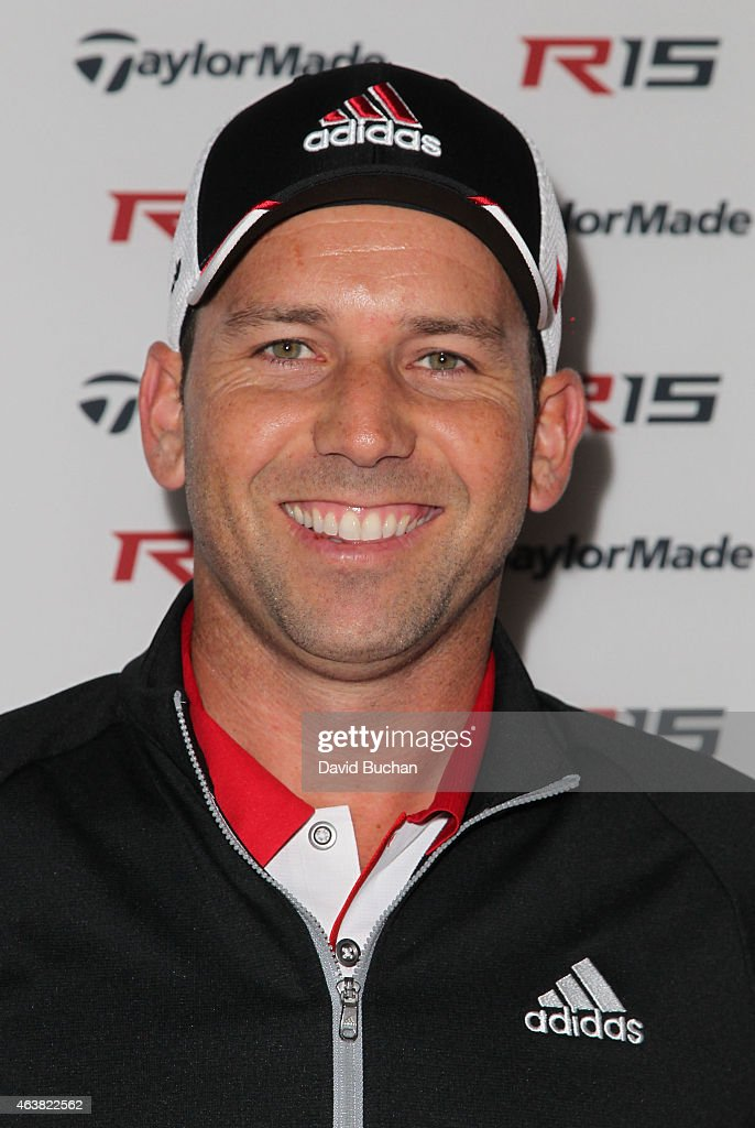 Pro golfer <a gi-track='captionPersonalityLinkClicked' href=/galleries/search?phrase=Sergio+Garcia+-+Golfer&family=editorial&specificpeople=167240 ng-click='$event.stopPropagation()'>Sergio Garcia</a> attends the Northern Trust Open & TaylorMade golf first ever drive-in movie on the driving range of a PGA Tour event at Riviera Country Club on February 18, 2015 in Pacific Palisades, California.
