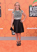 Pro snowboarder Jamie Anderson attends the Nickelodeon Kids' Choice Sports Awards 2016 at UCLA's Pauley Pavilion on July 14 2016 in Westwood...