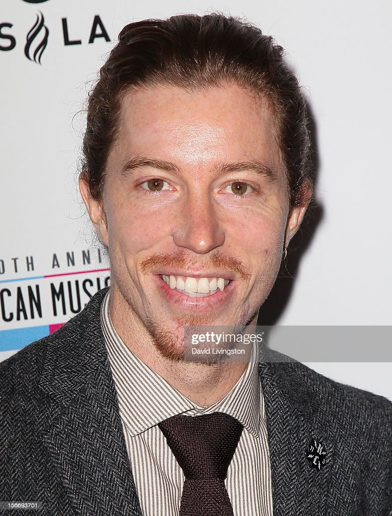 Pro snowboarder Shaun White attends Rolling Stone Magazine's 2012 American Music Awards (AMAs) VIP After Party presented by Nokia and Rdio at the Rolling Stone Restaurant and Lounge on November 18, 2012 in Los Angeles, California.