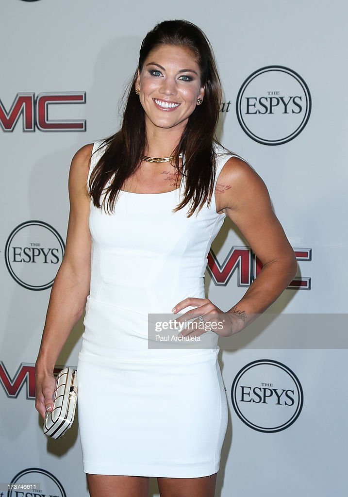 Pro Soccer Player <a gi-track='captionPersonalityLinkClicked' href=/galleries/search?phrase=Hope+Solo&family=editorial&specificpeople=580524 ng-click='$event.stopPropagation()'>Hope Solo</a> attends the ESPN's 5th Annual Body At ESPYS at Lure on July 16, 2013 in Hollywood, California.