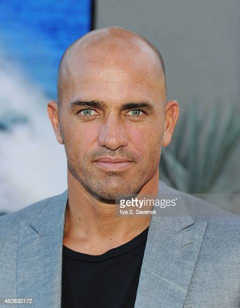 Pro Surfer Kelly Slater attends the ASP The World Surf League cocktail party at The Jimmy at the James Hotel on July 24 2014 in New York City