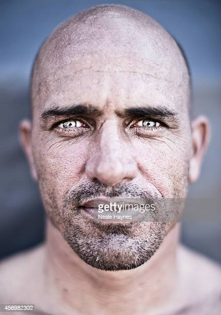 Pro surfer Kelly Slater is photographed on September 16 2014 in San Clemente California