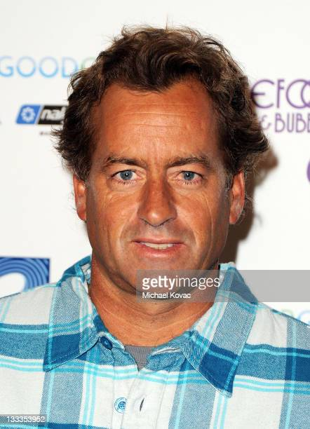 Pro surfer Tom Curren arrives at The Surfrider Foundation's 25th Anniversary Gala at California Science Center's Wallis Annenberg Building on October...