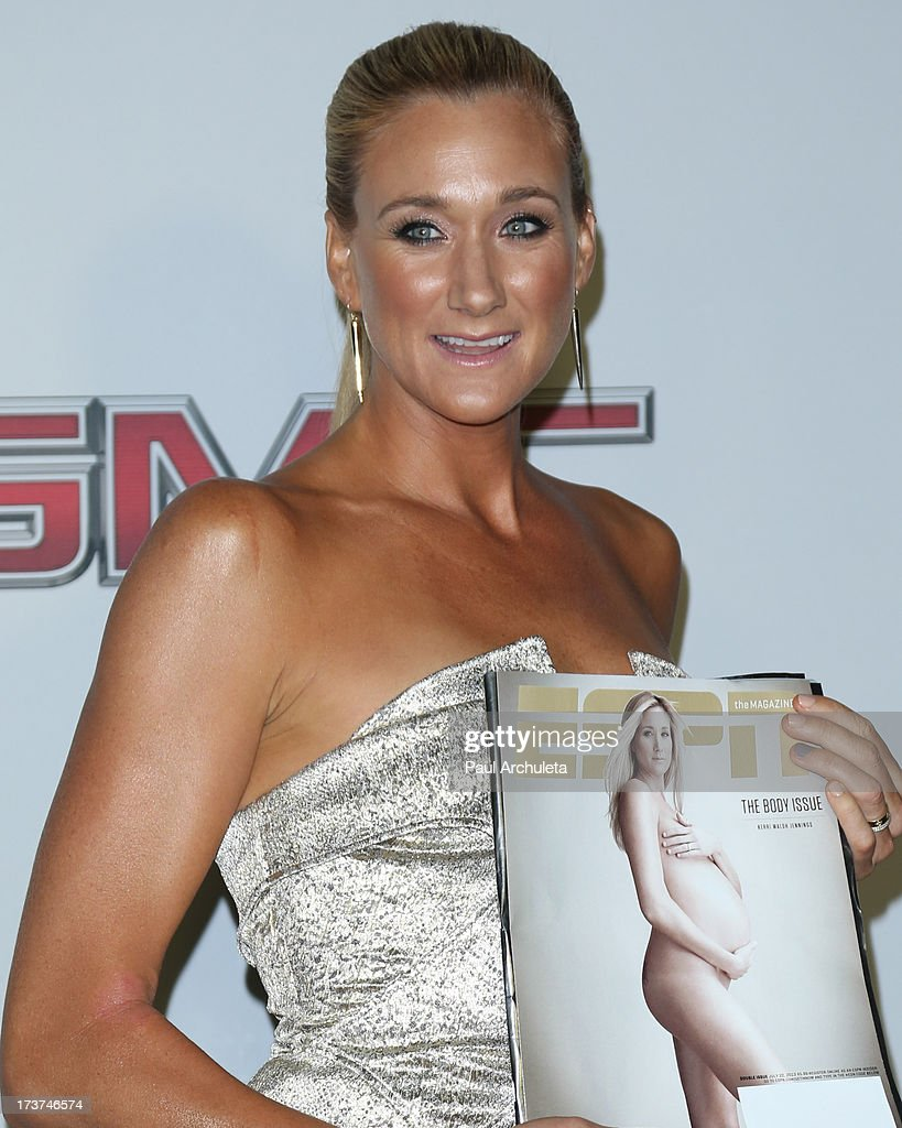 Pro Volleyball Player <a gi-track='captionPersonalityLinkClicked' href=/galleries/search?phrase=Kerri+Walsh&family=editorial&specificpeople=162761 ng-click='$event.stopPropagation()'>Kerri Walsh</a> Jennings attends the ESPN's 5th Annual Body At ESPYS at Lure on July 16, 2013 in Hollywood, California.