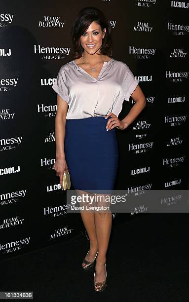 Pro wrestler Eve Torres attends the Hennessy Toasts Achievements In Music event with GRAMMY Host LL Cool J and Mark Burnett at The Bazaar at the SLS...
