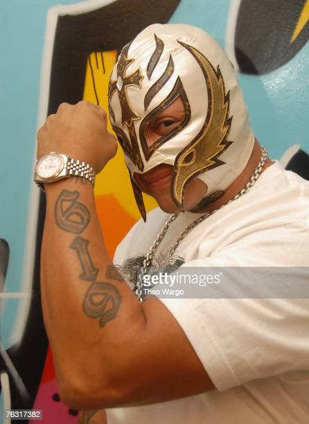 Pro Wrestler Rey Mysterio at fuse's 'The Sauce' in New York City on August 23 2007