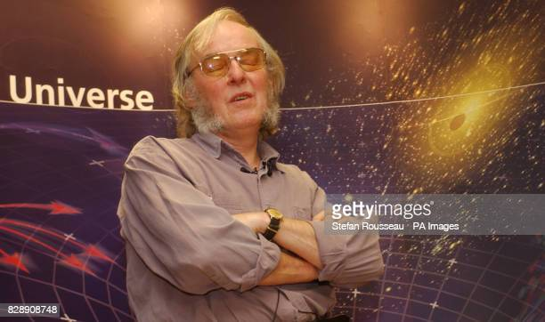 Probe designer Professor Colin Pillinger attends a press conference in London after the team lost contact with the Beagle 2 Mars probe on Christmas...