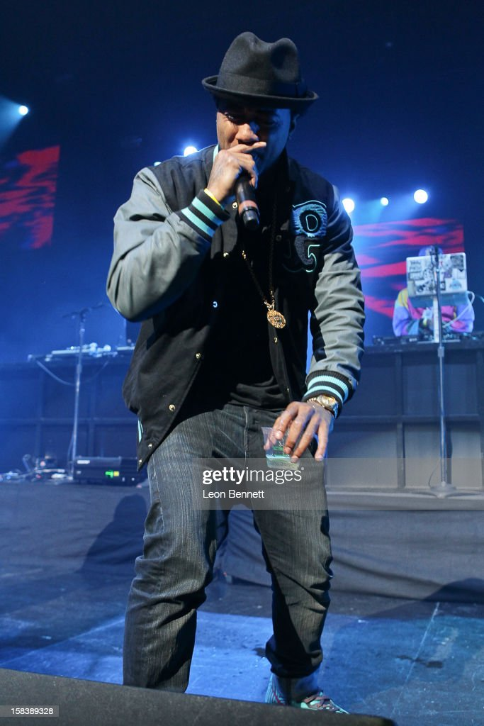 Problem performs at Power 106FM Presents CaliChristmas at Gibson Amphitheatre on December 14, 2012 in Universal City, California.