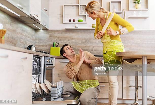 Probleme in der Küche.