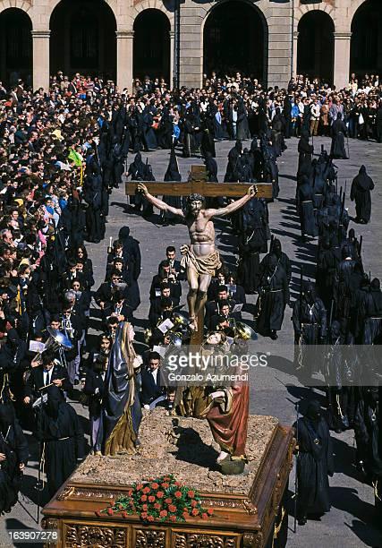 Procession in Zamora city.