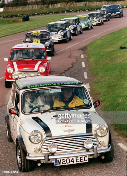A procession of Mini's and Mini Cooper's that numbered almost 100 set off for Bologna in Italy from Lydden racing circuit in Kent Their aim to raise...
