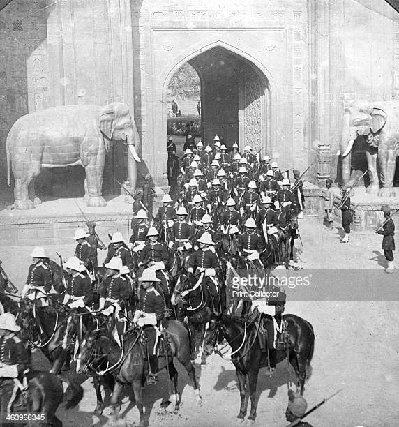 A procession passing through the Delhi Gate Lahore Pakistan 1913 The Delhi Gate is located within Walled City of Lahore It was built during the...