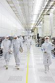 Processor chip factory, Shanghai, China