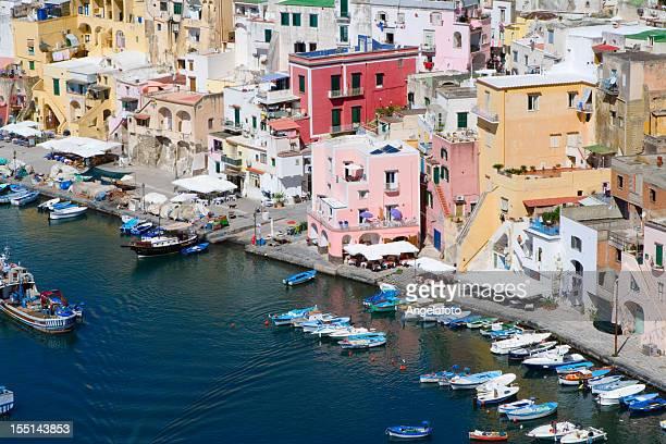 "Procida, Fisherman's Village ""La Corricella"", Bay of Naples, Italy"