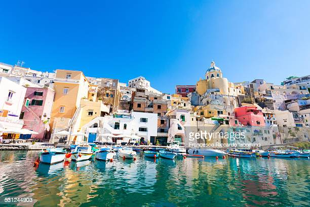 Procida, La Corricella colorful Harbour