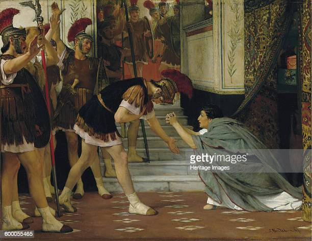 Proclaiming Claudius Emperor 1867 Private Collection Artist AlmaTadema Sir Lawrence