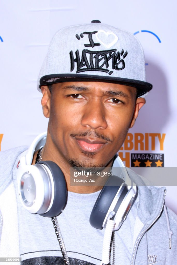 Prodcuer Nick Cannon arrives at LAUSD's Beyond the Bell Branch and Nick Cannons Celebrity High present 'Spotlight On Success' at Paramount Studios on May 11, 2013 in Hollywood, California.