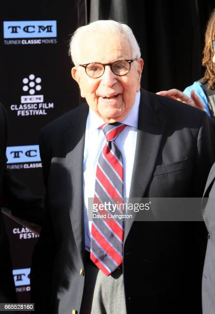 Prodcuer Walter Mirisch attends the 2017 TCM Classic Film Festival's Opening Night Gala and 50th Anniversary Screening of 'In The Heat of the Night'...