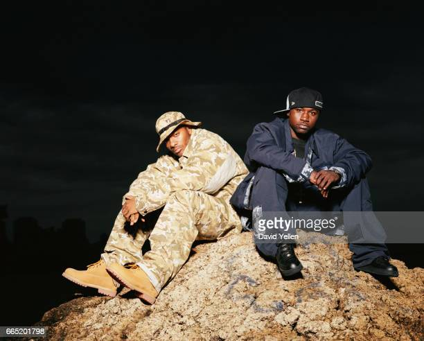 Prodigy and Havoc of rap duo Mobb Deep