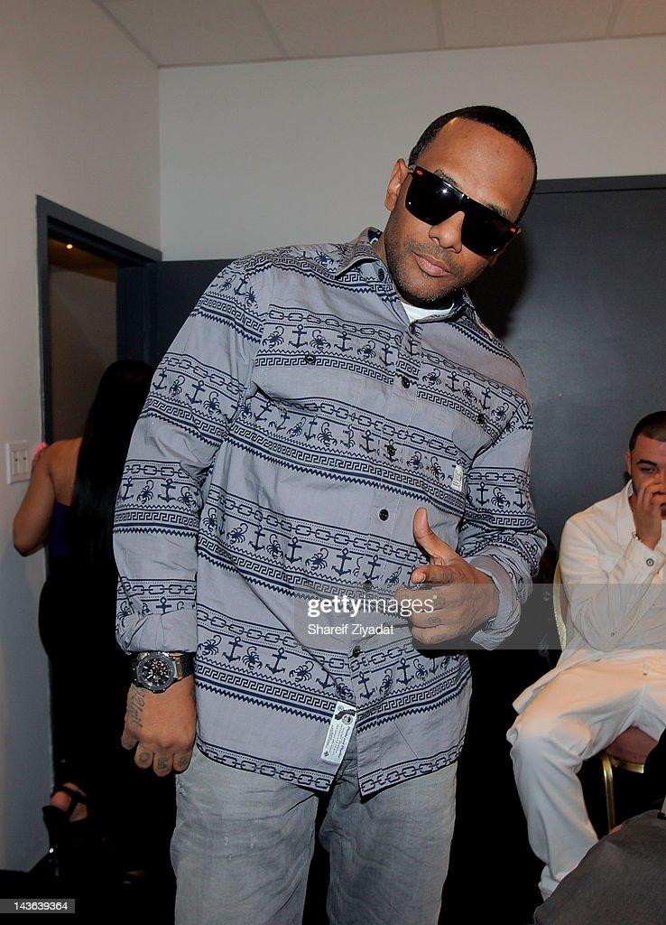 Prodigy attends the DJ ProStyle Birthday Concert at Hammerstein Ballroom on April 30, 2012 in New York City.