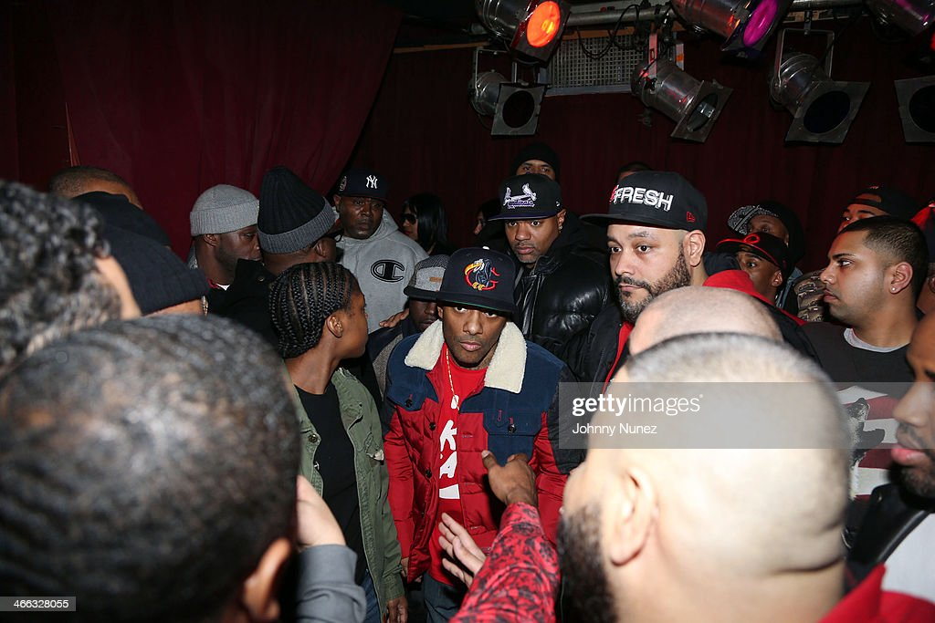 Prodigy (c) attends The Legendary Tunnel Party at B.B. King Blues Club & Grill on January 31, 2014 in New York City.
