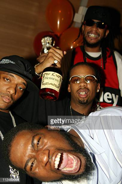 Prodigy David Banner La and Lil' Jon during 'Crunk' Energy Drink Launch Party Hosted by Lil' Jon at Butter in New York City New York United States