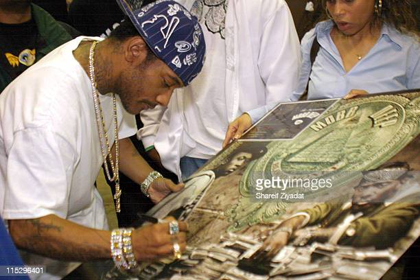 Prodigy of Mobb Deep during Mobb Deep Album Signing May 2 2006 at FYI in New York City New York United States
