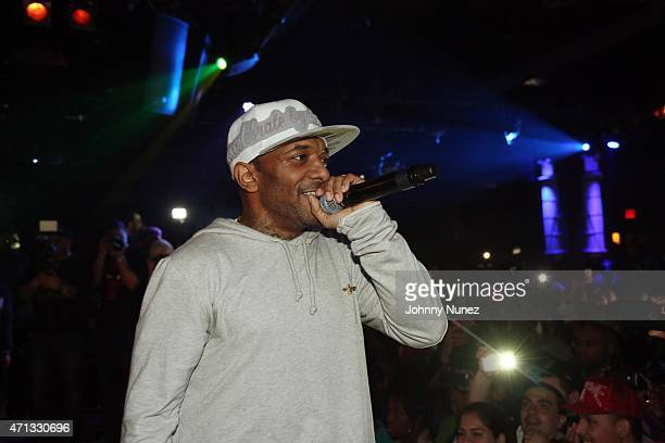 Prodigy of Mobb Deep performs at BB King Blues Club Grill on April 26 in New York City