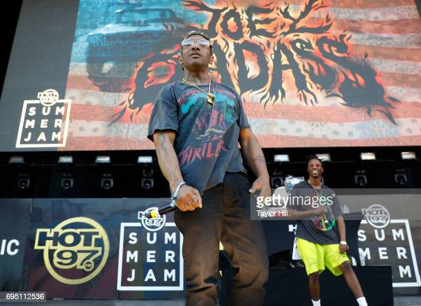 Prodigy of Mobb Deep performs during the 2017 Hot 97 Summer Jam at MetLife Stadium on June 11 2017 in East Rutherford New Jersey