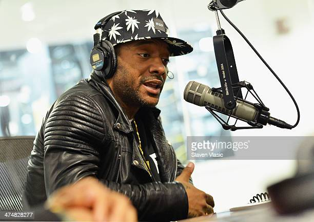Prodigy of Mobb Deep visits Hip Hop Nation at SiriusXM Studios on February 25 2014 in New York City