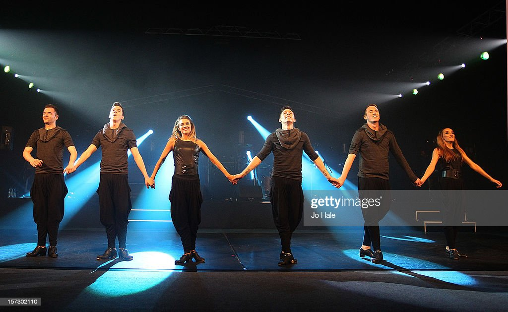 Prodijig dancers perform at The Emeralds and Ivy Ball on December 1, 2012 in London, England.